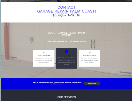 Garage Repair Palm Coast